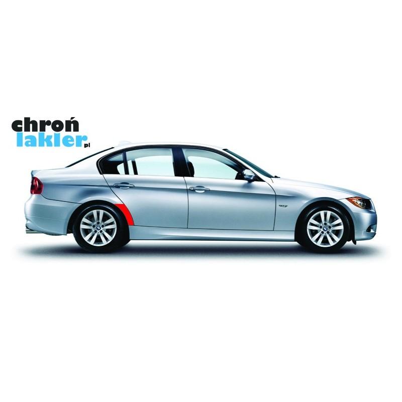 BMW serii 3 naklejki / folie ochronne błotnik tył