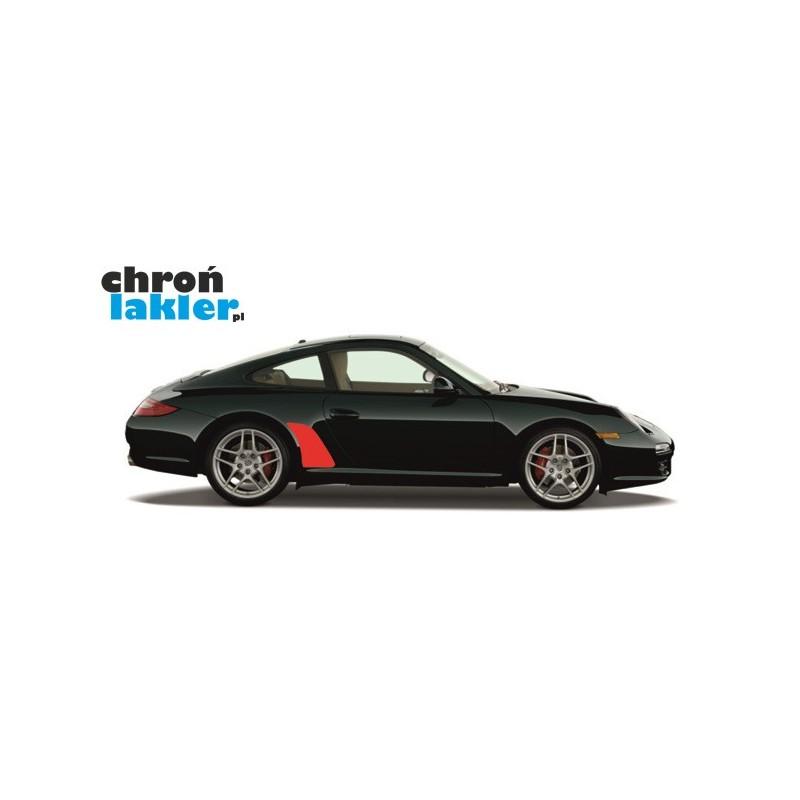 Porsche 911 Carrera, Carrera S, Carrera 4, Carrera 4S naklejka / folia ochronne błotnik tył