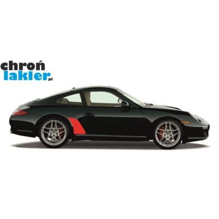 Porsche 911 997 Carrera, Carrera S, Carrera 4, Carrera 4S naklejka / folia ochronna błotnik tył