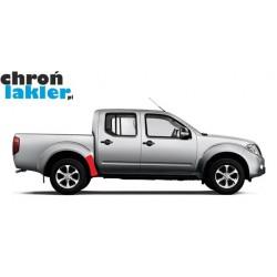 Nissan Navara błotnik / nadkole tył naklejka / folia ochronna