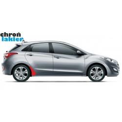 Hyundai i30 naklejki / folie ochronne błotnik tył