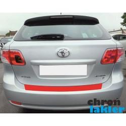 Toyota AVENSIS III T27 KOMBI zderzak tył folia ochronna (2008-2011)