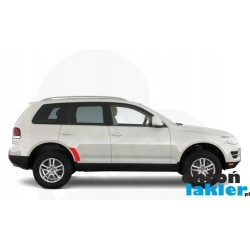 VW Touareg naklejki / folie ochronne błotnik / drzwi tył