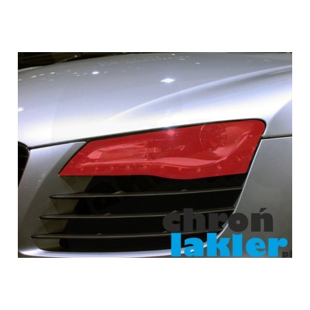 Audi R8 naklejki / folie ochronne na reflektory / lampy / światła przednie