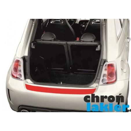 Fiat 500 / Abarth 500 zderzak tył folia ochronna