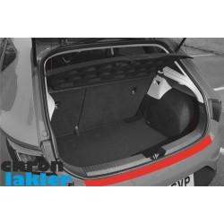 Seat Leon 2013 hatchback zderzak tył folia ochronna