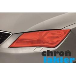 Seat Toledo IV (4) naklejki / folie ochronne na reflektory / lampy / światła przednie (2012-)