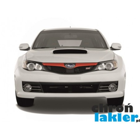Subaru Impreza GH III (3) WRX/STI folie ochronne na przedni grill
