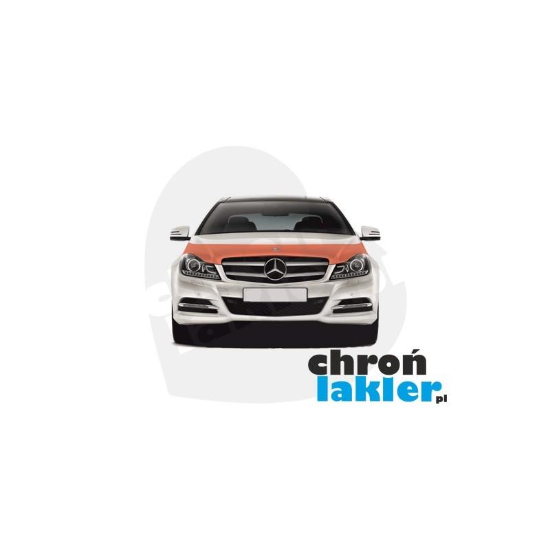 Mercedes C-klasa (C-class) W204 FL folia ochronna na maskę (Clear BRA) 3M VentureShield