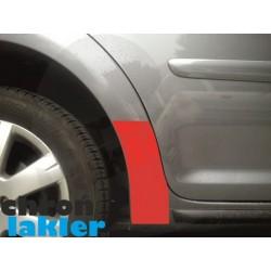 VW Touran I i II naklejki / folie ochronne błotnik tył