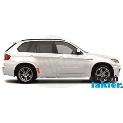 BMW X5 E70 błotnik i drzwi naklejka / folia ochronna