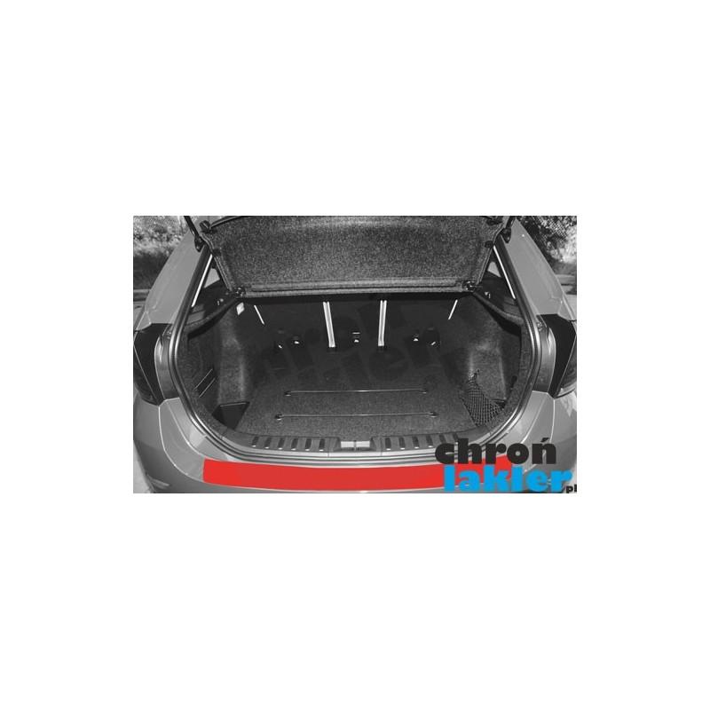 BMW X1 naklejka / folia ochronne zderzak tył