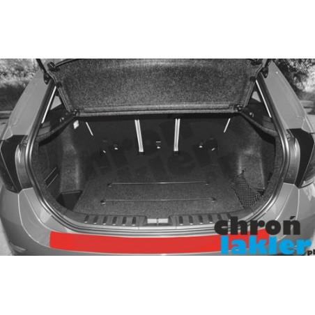 BMW X1 E84 naklejka / folia ochronna zderzak tył