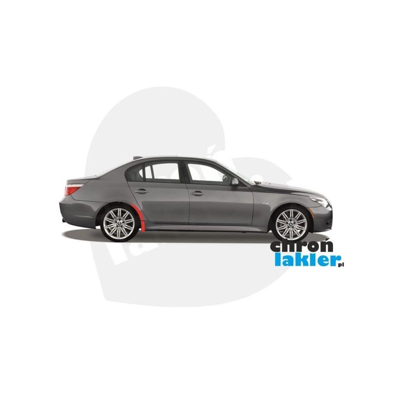 BMW 5 M5 E60 E61 naklejki / folie ochronne błotnik, próg tył