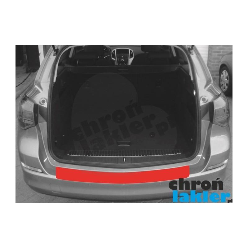 Opel Astra J 4 IV Sports Tourer (kombi) przed FL zderzak tył folia ochronna