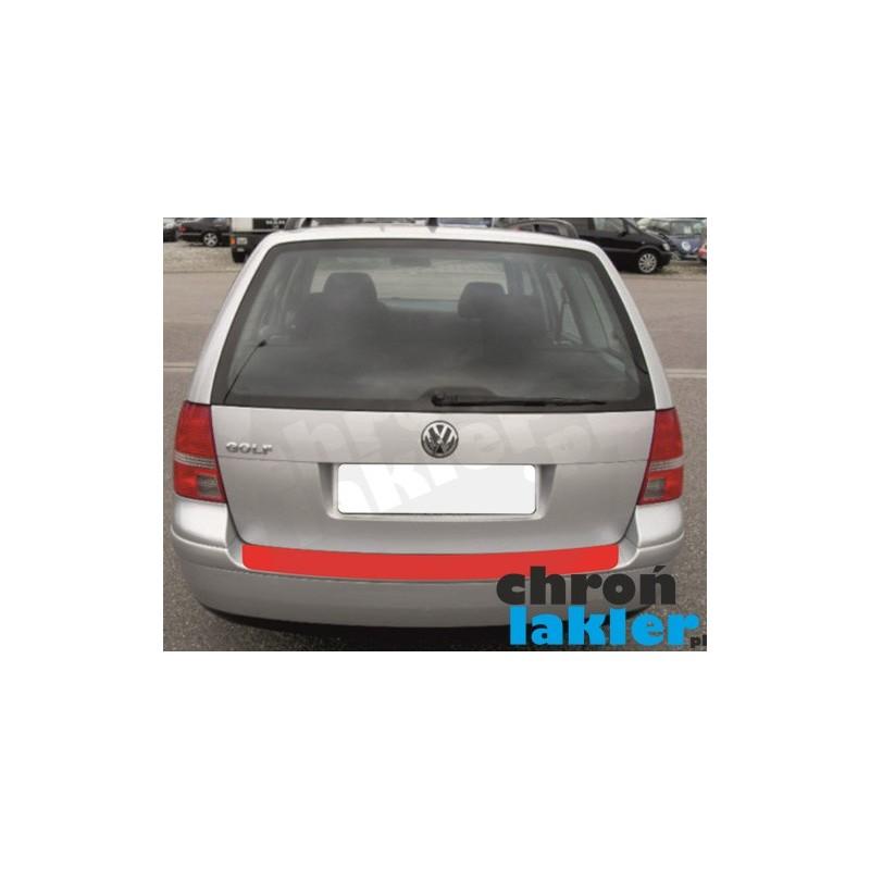 VW GOLF IV (4) / BORA variant (kombi) naklejka / folia ochronna zderzak tył