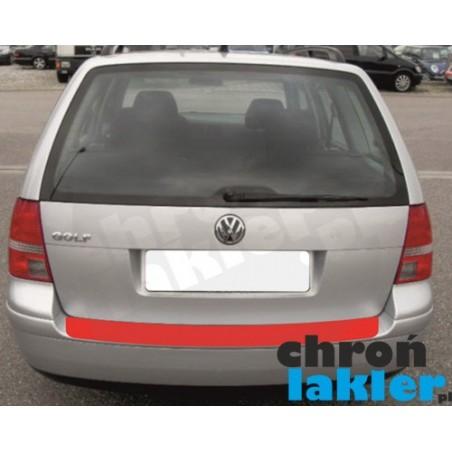 VW GOLF IV (4) / BORA variant (kombi) naklejka / folia ochronna zderzak tył (1997-2003)
