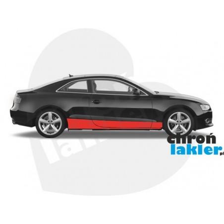 AUDI A5 coupe folia ochronna na progi i drzwi