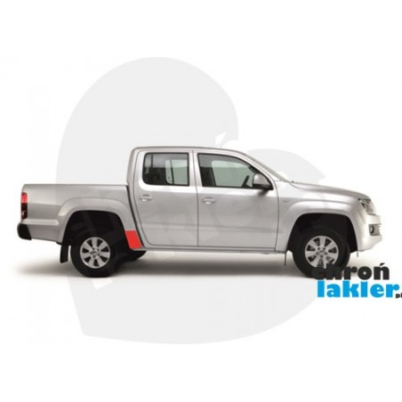 VW AMAROK naklejka / folia ochronna na błotnik/nadkole tył