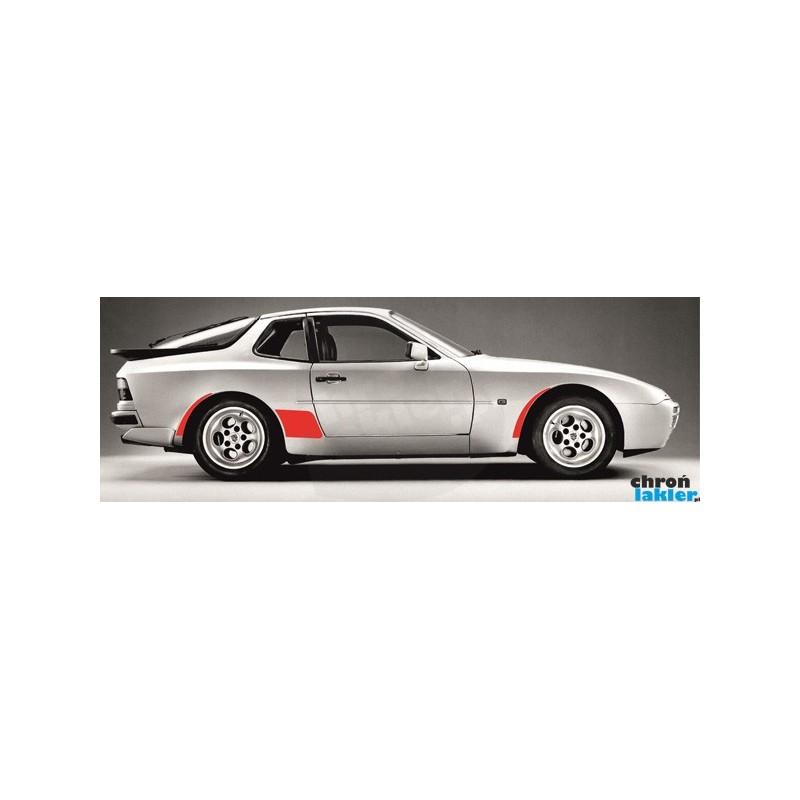 Porsche 944 968 naklejki / folie ochronne na błotniki zestaw