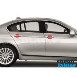 BMW 5 F10 dedykowane naklejki / folie ochronne pod klamki