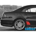 MERCEDES E-klasa W211 naklejki / folie ochronne błotnik / drzwi tył (2002-2009)