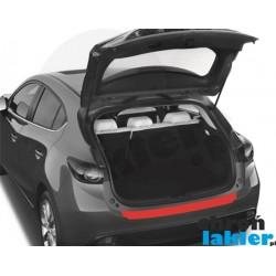 Mazda 3 III (3) hatchback zderzak tył folia ochronna (2013-)