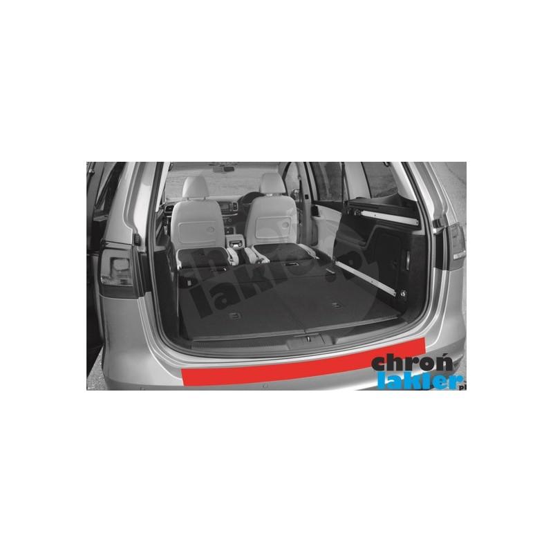 VW Sharan II (mk2) / Seat Alhambra zderzak tył naklejka / folia ochronna (2010-)