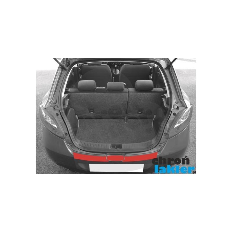 Mazda 2 III (3) zderzak tył folia ochronna (2011-2014)