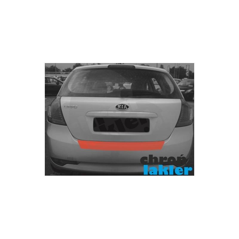 KIA CEED hatchback zderzak tył naklejka / folia ochronna (2006-2012)