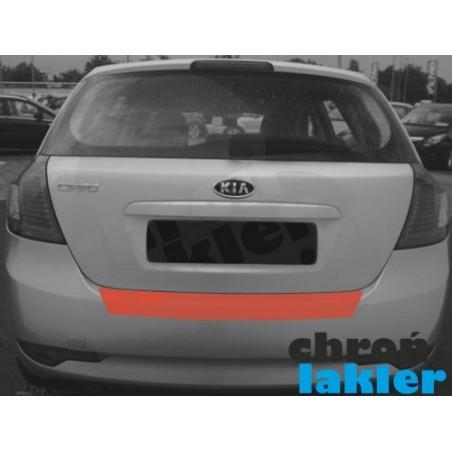 KIA CEED I hatchback zderzak tył naklejka / folia ochronna (2006-2012)