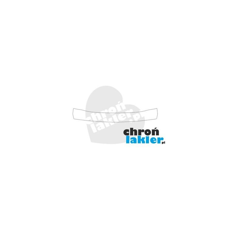 FORD FIESTA VII mk7 FL folia ochronna zderzak tył (2013-)