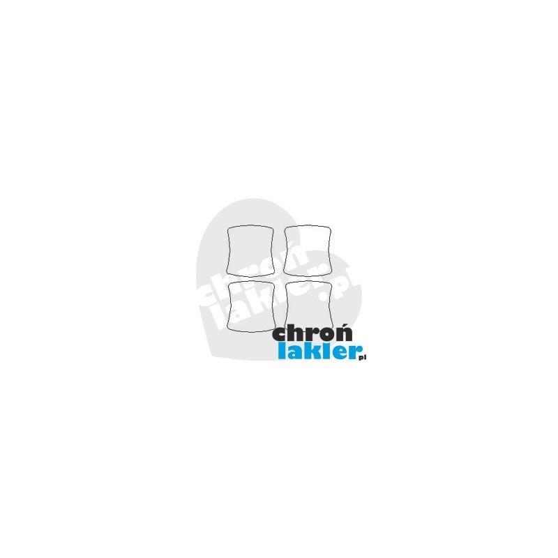 SUBARU IMPREZA GH III (3) dedykowane folie ochronne pod klamki (2008-2013)
