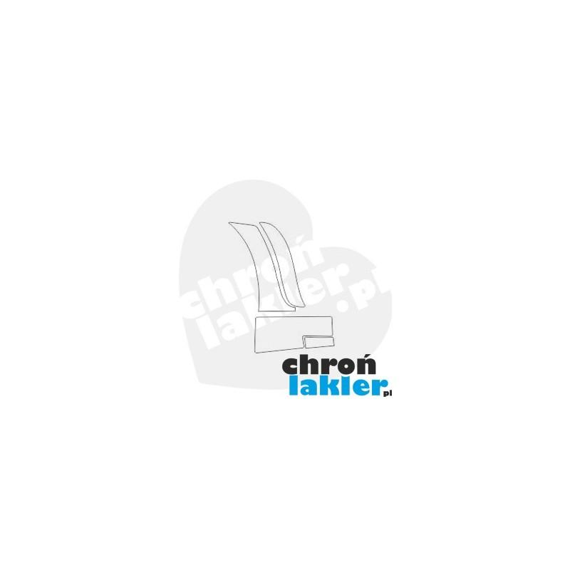 ALFA ROMEO 159 TI naklejka / folia ochronna błotnik, drzwi, próg tył (2005-2011)