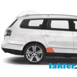 VW PASSAT B6 błotnik drzwi tył naklejka / folia ochronna (2005-2010)