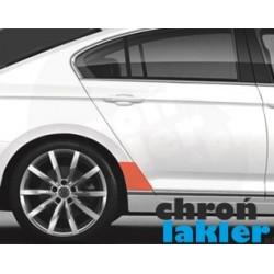 VW Passat B8 folia ochronna błotnik tył (2014-)